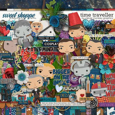 Time Traveller by Clever Monkey Graphics