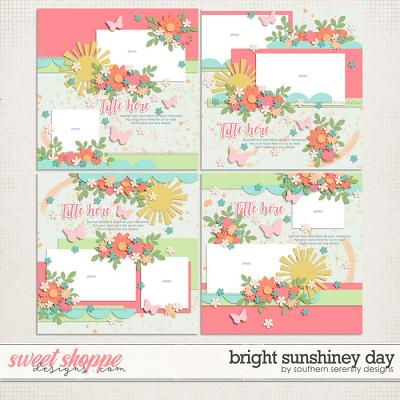 Bright Sunshiney Day Layered Templates by Southern Serenity Designs