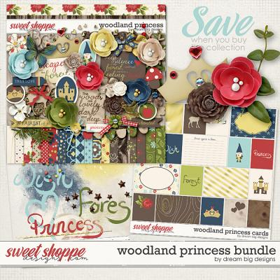 Woodland Princess Bundle by Dream Big Designs