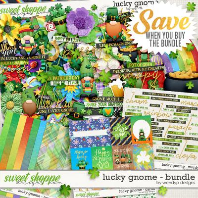 Lucky gnome - Bundle by WendyP Designs