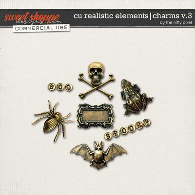 CU REALISTIC ELEMENTS | CHARMS V.3 by The Nifty Pixel