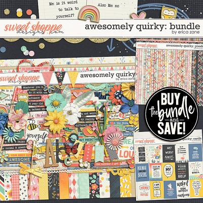 Awesomely Quirky: Bundle by Erica Zane