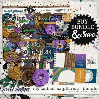 My Zodiac - Sagittarius : Bundle by Amanda Yi & Juno Designs