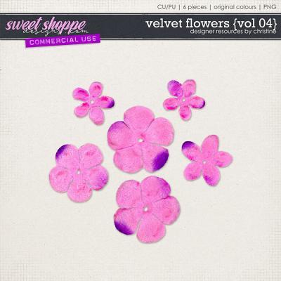 Velvet Flowers {Vol 04} by Christine Mortimer