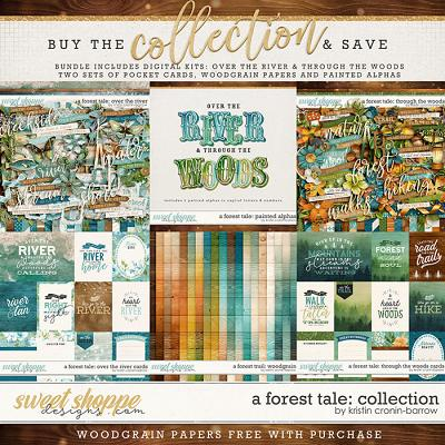 A Forest Tale: Collection by Kristin Cronin-Barrow