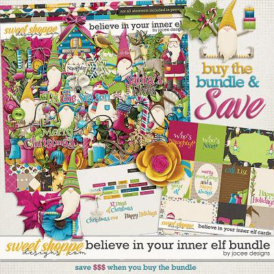 Believe in your inner Elf Bundle by JoCee Designs