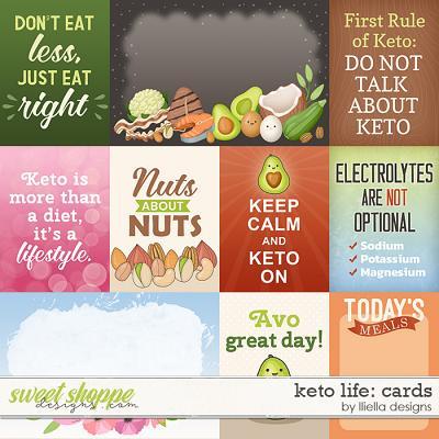 Keto Life Cards by lliella designs