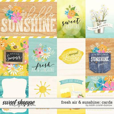 Fresh Air and Sunshine: Cards by Kristin Cronin-Barrow