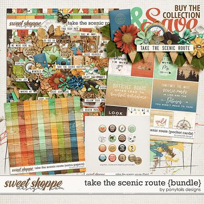 Take the Scenic Route Bundle by Ponytails