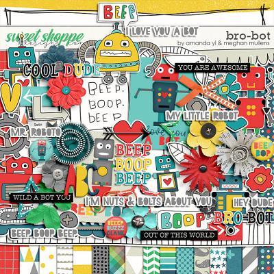 Bro-Bot by Amanda Yi Designs & Meghan Mullens
