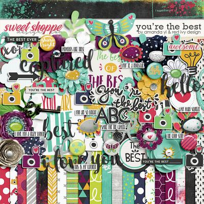 You're The Best by Amanda Yi and Red Ivy Design