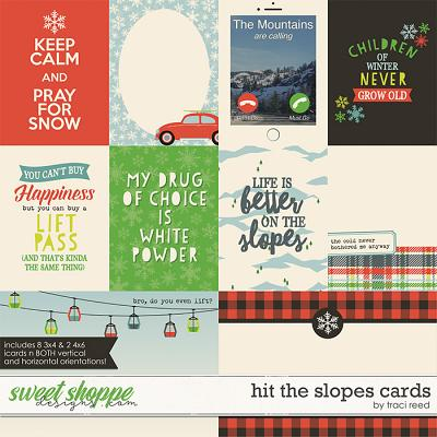 Hit The Slopes Cards by Traci Reed