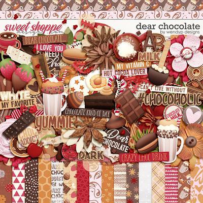 Dear Chocolate by WendyP Designs