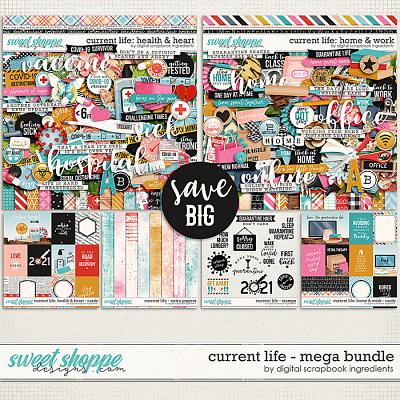 Current Life Mega Bundle by Digital Scrapbook Ingredients