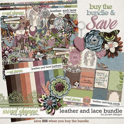Leather and Lace Bundle by JoCee Designs