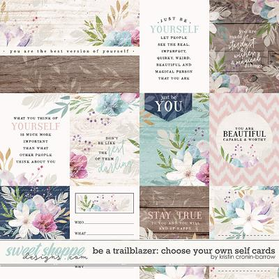 Be a Trailblazer: Choose your own Self Cards by Kristin Cronin-Barrow