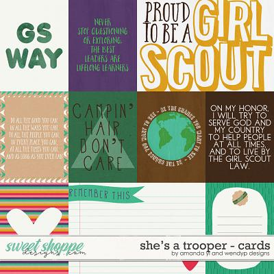 She's A Trooper: Cards by Amanda Yi & WendyP Designs