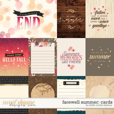 Farewell Summer: Cards by Kristin Cronin-Barrow