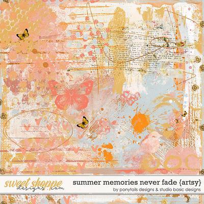 Summer Memories Never Fade Artsy by Ponytails Designs & Studio Basic