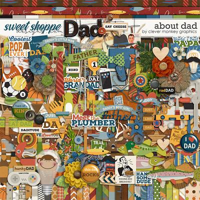 About Dad by Clever Monkey Graphics