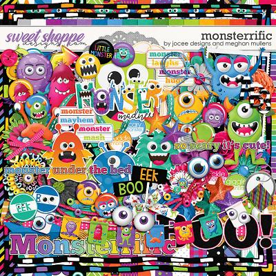 Monsterrific-Kit by JoCee Designs & Meghan Mullens