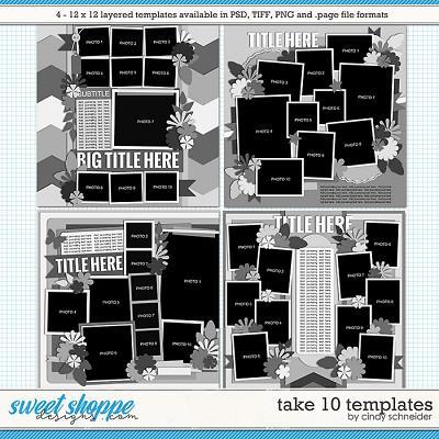 Cindy's Layered Templates - Take Ten by Cindy Schneider