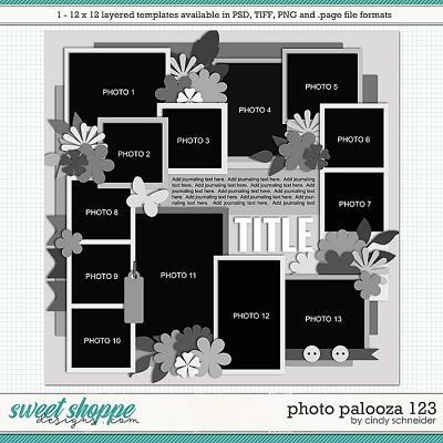 Cindy's Layered Templates - Photo Palooza 123 by Cindy Schneider
