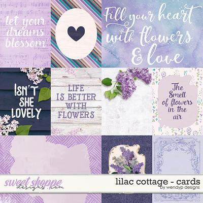 Lilac Cottage - Cards by WendyP Designs