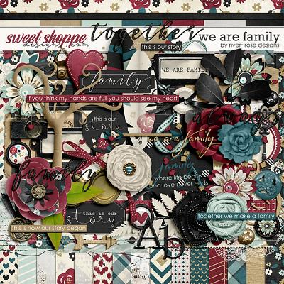 We are Family Kit by River Rose Designs