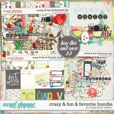 Crazy & Fun & Favorite Bundle by Studio Basic