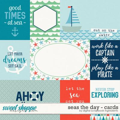Seas The Day | Journal Cards by Digital Scrapbook Ingredients