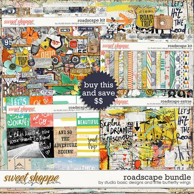 Roadscape Bundle by Studio Basic Little Butterfly Wings