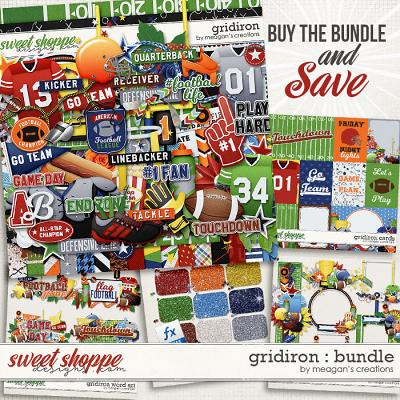 Gridiron Collection Bundle by Meagan's Creations