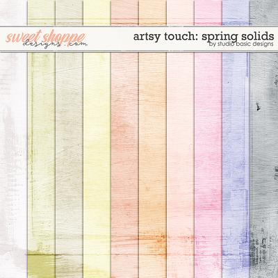 Artsy Touch: Spring Solids by Studio Basic