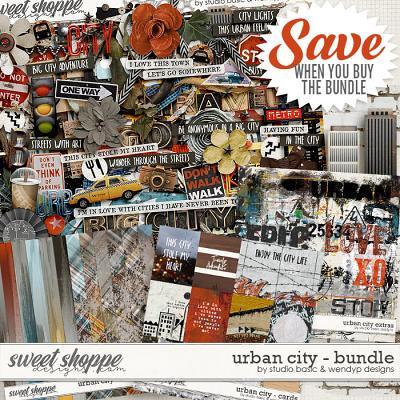 Urban City Bundle by Studio Basic & WendyP Designs