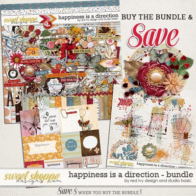 Happiness Is A Direction Bundle by Red Ivy and Studio Basic