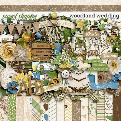 Woodland Wedding by LJS Designs