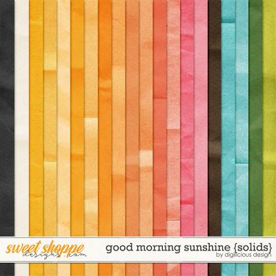 Good Morning Sunshine {Solids} by Digilicious Design