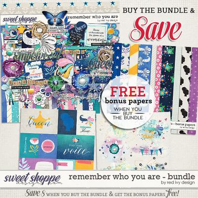 Remember Who You Are - Bundle by Red Ivy Design