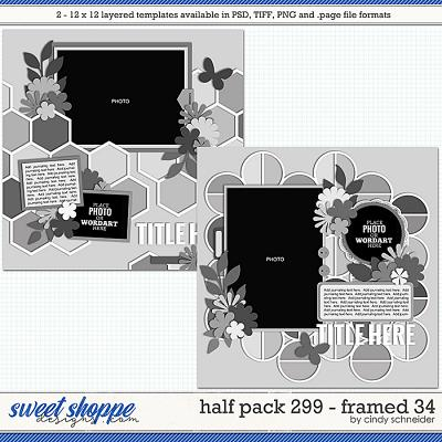 Cindy's Layered Templates - Half Pack 299: Framed 34 by Cindy Schneider