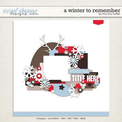 A Winter To Remember by Two Tiny Turtles