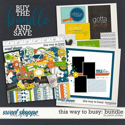 THIS WAY TO BUSY: The Bundle by Janet Phillips