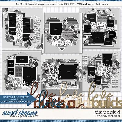 Cindy's Layered Templates - Six Pack 4 by Cindy Schneider