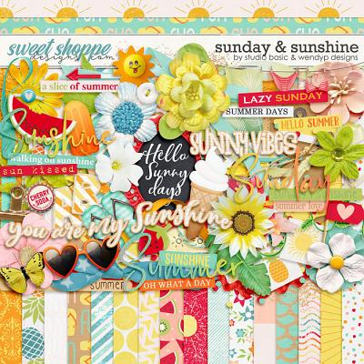 Sunday & Sunshine Kit by Studio Basic & WendyP Designs