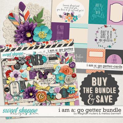 I Am A: Go Getter Bundle by Melissa Bennett and Meghan Mullens