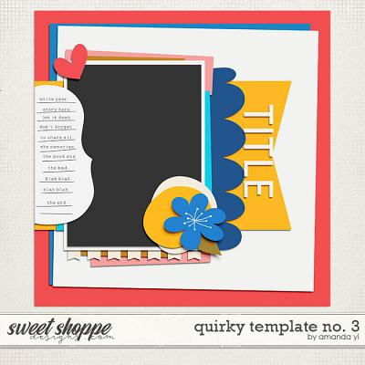 Quirky template no. 3 by Amanda Yi