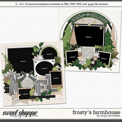 Cindy's Layered Templates - Frosty's Farmhouse by Cindy Schneider