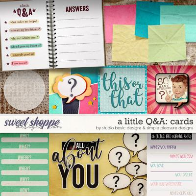 A Little Q&A Cards by Simple Pleasure Designs and Studio Basic