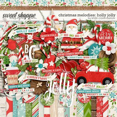Christmas Melodies: Holly Jolly by Kristin Cronin-Barrow