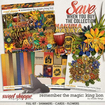 Remember the Magic: KING LION- COLLECTION & *FWP* by Studio Flergs